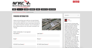 North Florida Kart Club Website