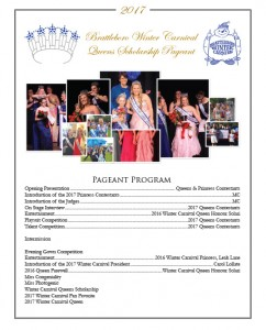 Brattleboro Pageant Program